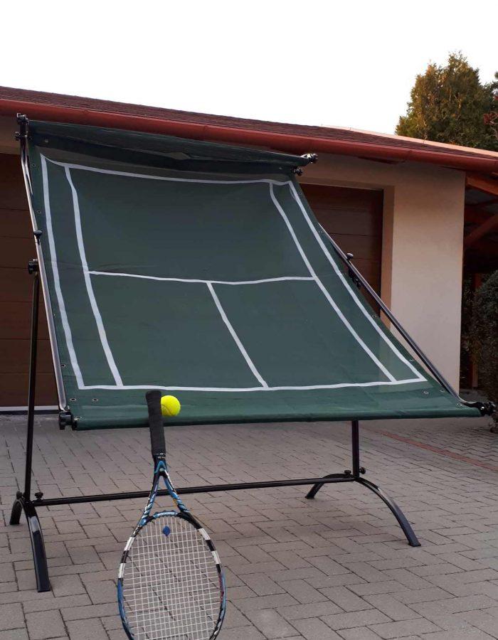 tenisz falazó gép